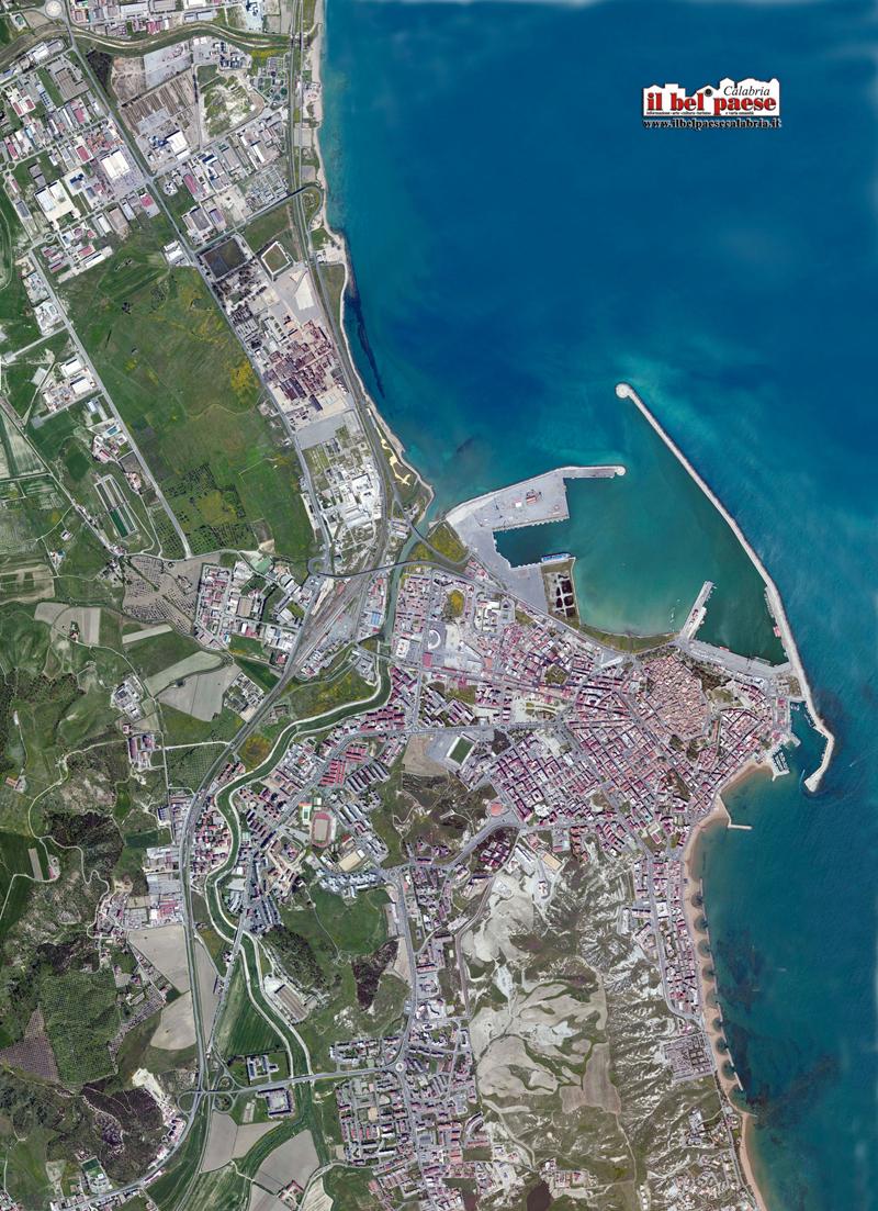 Aerografia di Crotone